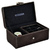 Jacob Jones 73816 Cambridge Collection Watch And Cufflink Box.